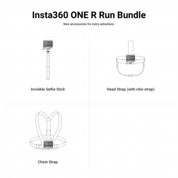 Insta360 Run Bundle / Insta 360 Run Bundle for ONE R & Action Camera ORIGINAL
