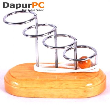 Puzzle Unlock Model Wooden String