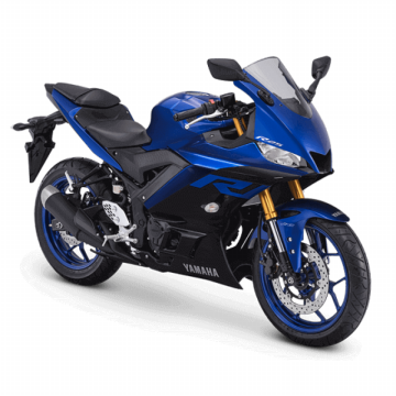YAMAHA R25 250 ABS Blue/Red/Black Jakarta