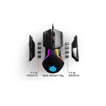 SteelSeries Rival 600 with TrueMove3+ Dual Sensor Gaming Mouse