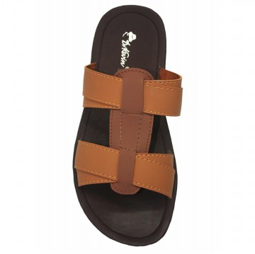 Dr. Kevin Sendal Pria Flat Kasual Men Sandals 871-529 - (2Warna) Tan. Cream