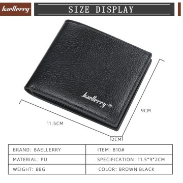 BA21 Dompet Pria Original Baellerry Compact Functional