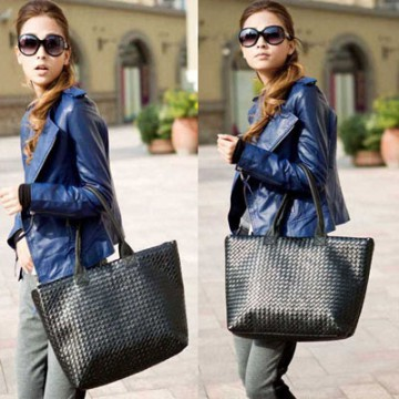 Fashion Women PU Leather Messenger Hobo Handbag Shoulder Bag Lady Tote Purse