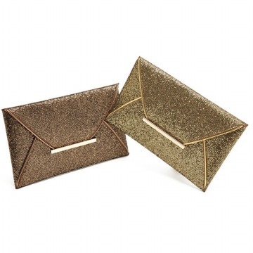 Fashion Womens Sequins Envelope Bag Evening Party Purse Clutch Handbag