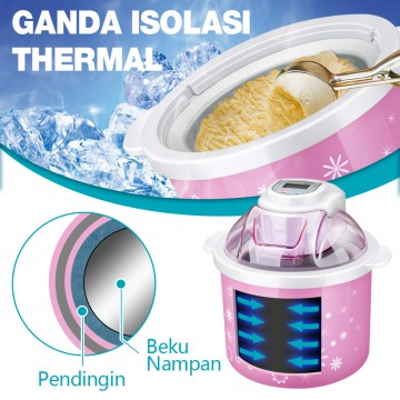 KIC Ice Cream Maker I-1001 / Pembuat Es Krim