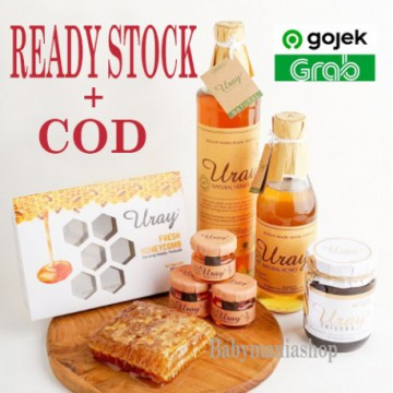Madu Uray 100% Raw Natural Raw Honey Madu Hutan Lebah Hutan Fresh Grade A Organik Babymaniashop