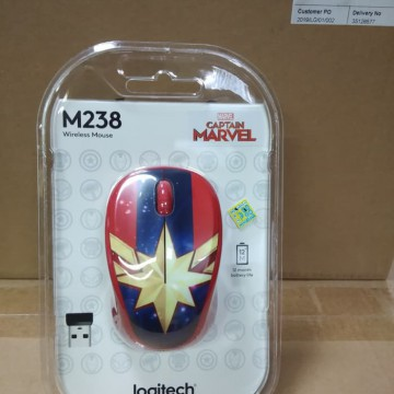 Logitech Mouse Wireless Marvel Collection