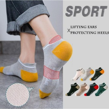 KK45 Kaos Kaki Pria Speed Men Angkle Sock - light grey
