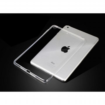 Case for Apple iPad Mini 1,2,3 - Abu-abu + Gratis Tempered Glass - Ultra Thin Soft Case