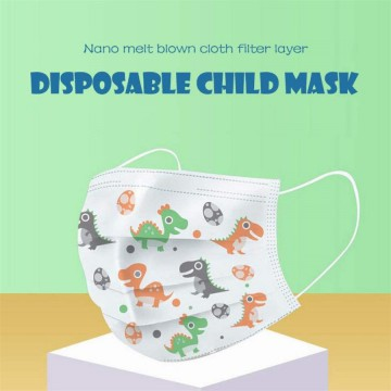 [50 Pcs] Masker anak 3 ply 3ply Kids Child mask motif Earloop 1box