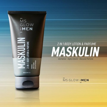 Ms Glow For Men Maskulin Body  Lotion
