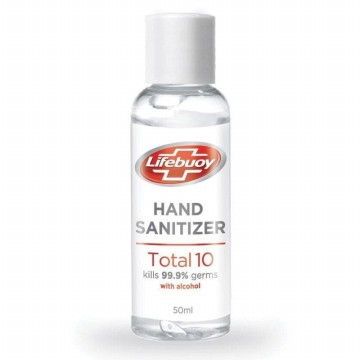 Hand Sanitizer Gel LIFEBUOY Total 10 Skin Immunity Boosting 50ml