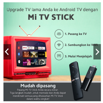 Xiaomi Mi TV Stick Android 9.0, Google Assistant & Smart Cast, Dolby & DTS Premium Surround Sound