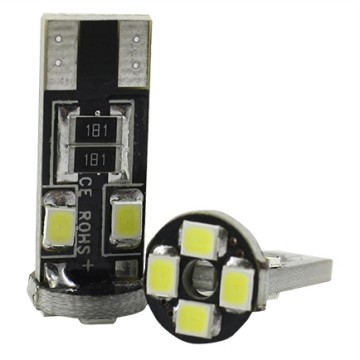 Lampu Mobil LED T10 W5W 8 SMD 1210 2PCS - White