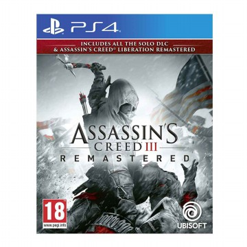 Assassin's Creed 3 Remastered Game PS4 (R3)