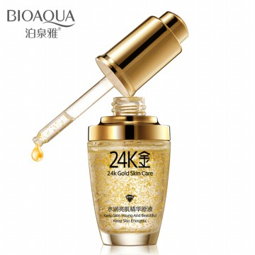Bioaqua Serum Wajah 24K Gold Essence 30ml - Golden