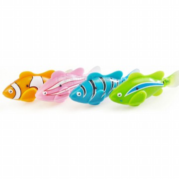 Electric Water Swim Fish Toy / Mainan Ikan - Multi-Color