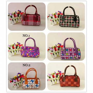 Tas Korea Import Tas Tangan Kulit Wanita Korean Bag Double Resleting