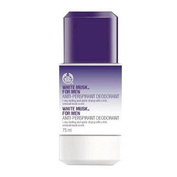 THE BODY SHOP WHITE MUSK FOR MEN ANTI-PERSPIRANT DEODORANT