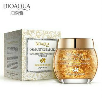 (120ml) Bioaqua Osmanthus Flower Petals Brightening Sleeping Mask/Masker Gel Bunga Osmanthus