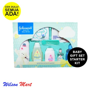JOHNSON BABY GIFT SET STARTER KIT