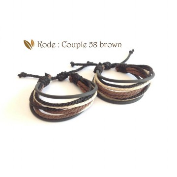 Gelang Couple / Gelang Couple 58 59 60 / Gelang Pasangan