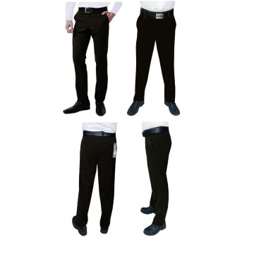 VM Celana Formal Pria - Celana Kerja Slim - Long Slim High Twiss Pants - 5 Warna