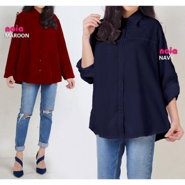 WOMEN PLUS SIZE BLOUSE - BIG SIZE BLOUSE