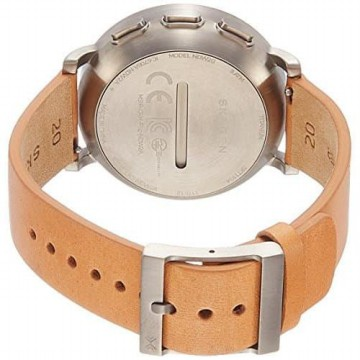 Skagen Connected Men's Hagen Titanium and Leather