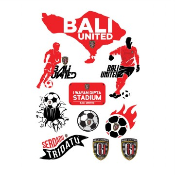 Red Black Sticker Pack