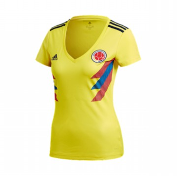 JERSEY LADIES COLUMBIA HOME WORLD CUP 2018 - JERSEY BOLA LADIES TIMNAS KOLUMBIA PIALA DUNIA 2018