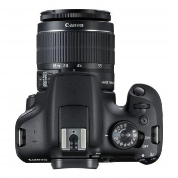 Canon EOS 1500D Kit 18-55mm III Hitam - FREE Accessories