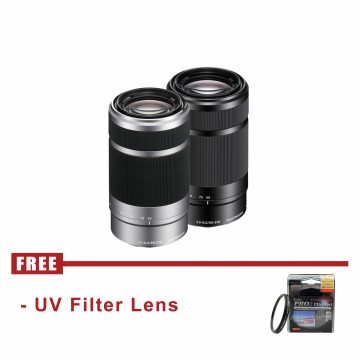 Lensa Mirrorless Sony E 55-210mm F4.5-6.3 OSS E-mount Zoom Lens