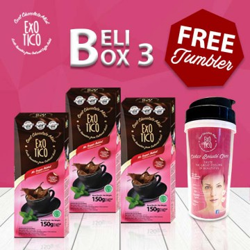 3Box Beauty Choco Mint + Tumblr