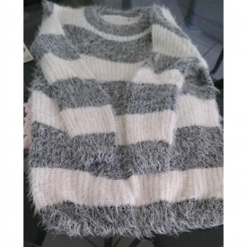 Baju Sweater Rajut Bulu Wool Winter Musim Dingin Cardigan Fashion Wanita Import Best Seller