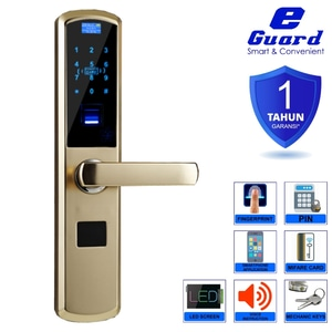 E-Guard Smart Digital Door Lock Fingerprint Kuncipintu Digital 1609