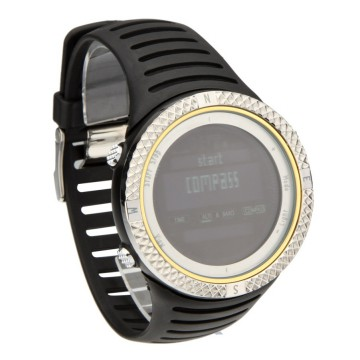 Spovan FX801 Waterproof Sport Watch for Outdoor Traveling - Silver