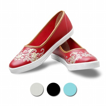 Salvora Women Flat Shoes Sepatu Kasual MS - 4 Warna