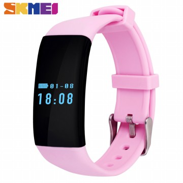 SKMEI Smartwatch Wristband LED - D21 - Black