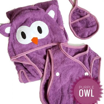 CUDDLE ME - SMART TOWEL (Handuk Multifungsi + Celemek + Washlap 3in1)