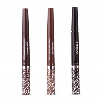 MUSIC FLOWER 2 in 1 EYEBROW MASCARA AND EYELINER PENCIL 24H