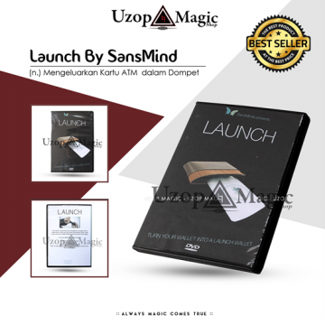 Launch by SansMind | Alat Sulap | DVD Gimmick