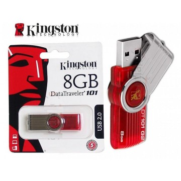 [Kingston] Flashdisk 8GB (Bergaransi) | Flash Disk | Flash Drive Kingston 8GB