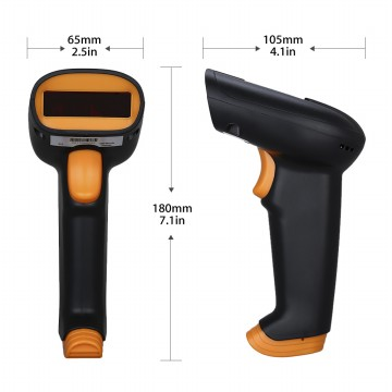 Netum S2 Wireless Barcode Scanner 1D - Murah