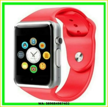 SMART WATCH A1 / SMARTWATCH U10 Merah Red SIMCARD MICRO MEMORY CARD