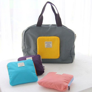 Korean Foldable Street Shopper Bag For Traveller / Tas Lipat utk Shopper saat travelling
