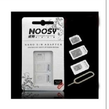 Noosy Sim Card Adapter Nano dan Micro 3 in 1