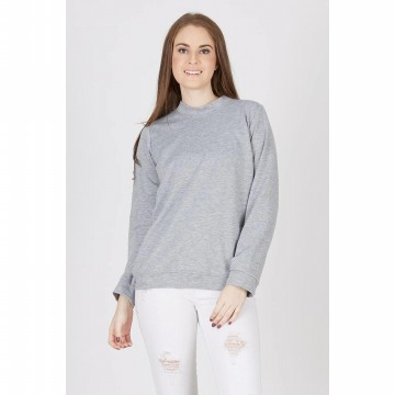 [BERRYBENKA] Filip Grey Sweater Top