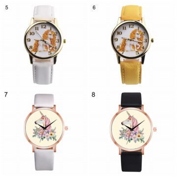 [FREE ONGKIR] Unicorn Pastel Color Wristwatches - 11 Color