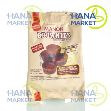 [1+1] Manon Brownies Original 60g